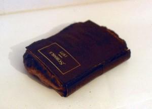 Schools 1977 (book and bread dough)