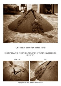 Untitled (sand flow series)